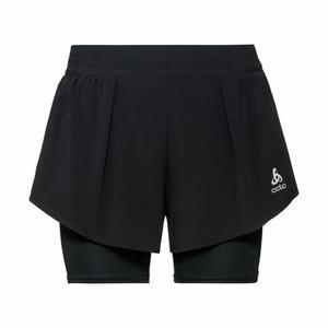 2 in 1 Zeroweight Ceramicool Shorts Women - black
