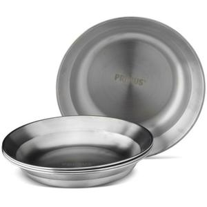 Campfire Plate - stainless steel