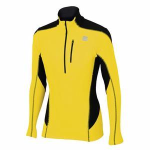 Cardio Tech Top - yellow fluo/black