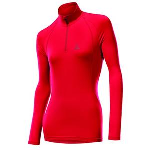 Thermo-Velours Pulli Women - red