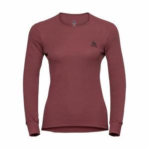 Crew Neck Shirt Warm Women - roan rouge