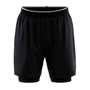 Charge 2 In 1 Shorts - black