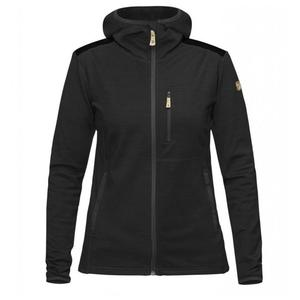Keb Fleece Hoodie Women - dark grey