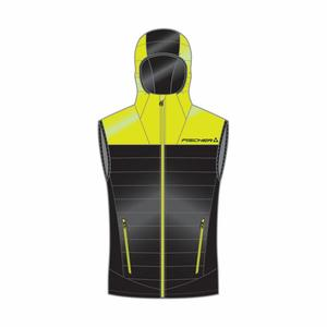 Ruka Primaloft Vest - black/yellow