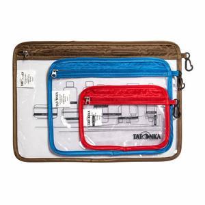 Zip Flight Bag Set - transparent