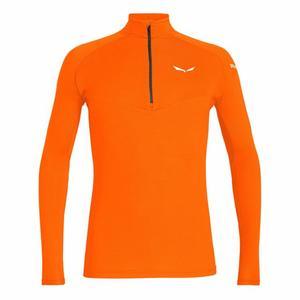 Sennes Dry'Ton Long Sleeved Half-Zip Shirt - fluo orange