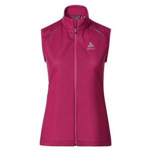 Frequency 2.0 Windstopper Vest Women - sangria