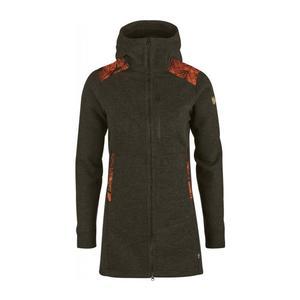 Lappland Pyrsch Jacket Women - dark olive/camo