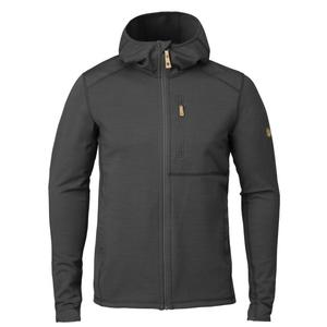 Keb Fleece Hoodie - dark grey-black