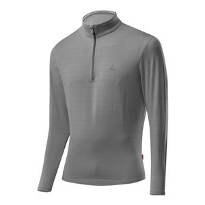 Transtex Basic CF Sweater - grey melé