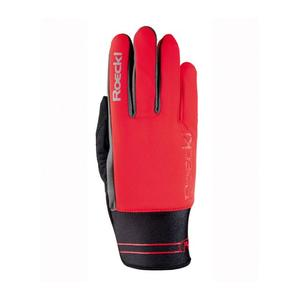 Langholm Glove - fiesta red