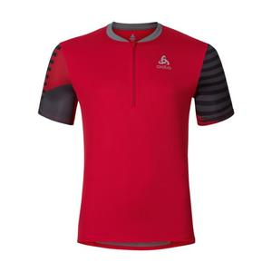 Morzine Cycling Jersey - chinese red