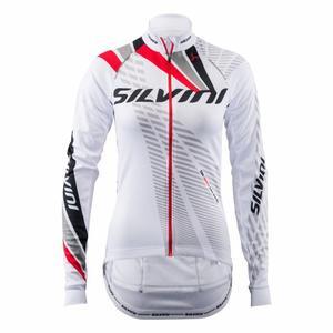 LS Team Bike Jersey Women - white/red