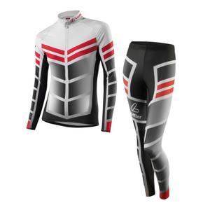 XC Skiing Racing Suit Worldcup Women - black/red