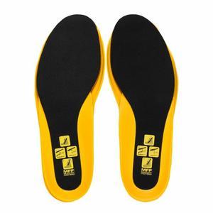 Multifit Footbed Plus - black/yellow