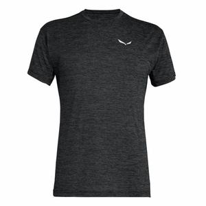 Puez Melange Dry'Ton T-Shirt - black out melange