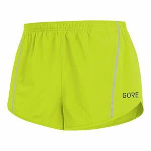 R5 Split Shorts - citrus green
