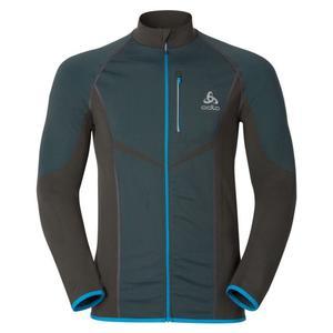 Velocity Midlayer Full Zip Jacke - graphite grey/blue jewel
