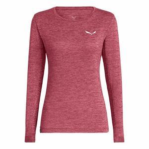 Puez Melange Dry'Ton Long Sleeved Women Shirt - mauvemood melange