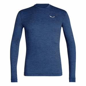 Puez Dryton Shirt - dark denim melange