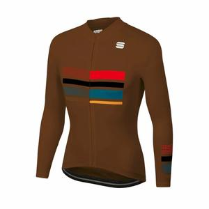 Wire Thermal Jersey - chocolate