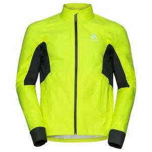 Morzine Rain Jacket - safety yellow - black