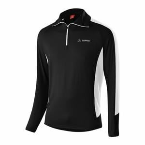 Zip-Sweater Max Transtex® - black/white