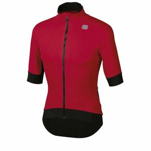 Fiandre Pro Jacket Short Sleeved - red rumba