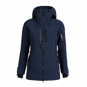 La Liste Hardshell Thermo Hooded Jacket Women - marine