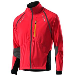 Bike Zip-Off Jacket San Remo WS Softshell - red