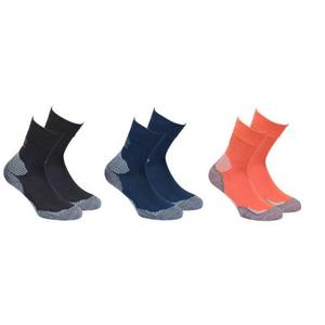 Outdoor Hiking Socks 3 Pack - black/navy/orange
