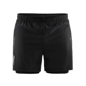 Essential 2 in 1 Shorts - black