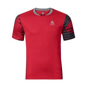 Morzine Cycling Shirt - chinese red