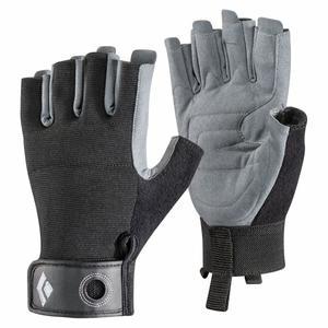 Crag Half-Finger Gloves - black