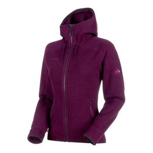 Arctic ML Hooded Jacket Women - grape/phantom melange