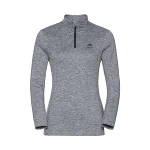 Steeze 1/2 Zip Midlayer Pullover Women - grey melange