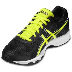 Gel-Galaxy 8 GS Running Shoes Kids - black/flash yellow/white