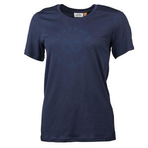 Lundhags Merino Light Sigil T-Shirt Women - deep blue