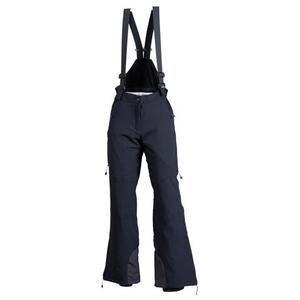 Wagrain Stretch Suspender Pants short Women - black