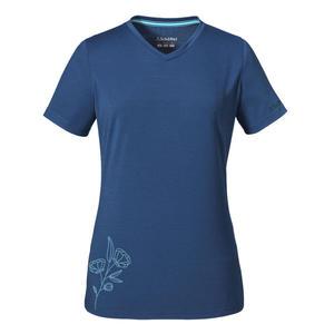 Schöffel T-Shirt Nuria 1 L Women - blue indigo