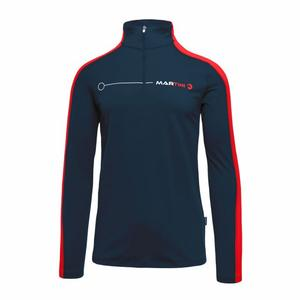 Optimate Shirt - black/spicy red