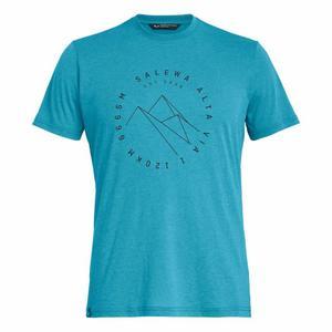 Alta Via Dry-Release Short Sleeved T-Shirt - blue danube melange