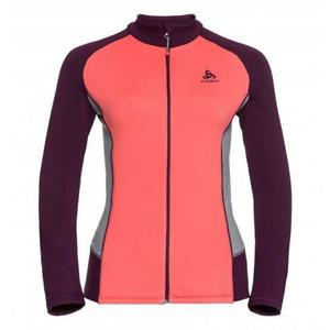 Snowbird Midlayer Full Zip Jacket Women - hot coral