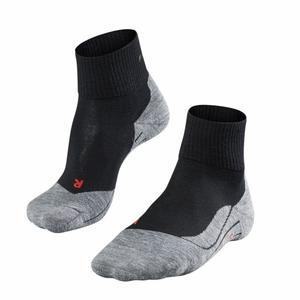 TK5 Short Trekking Socks Women - black mix