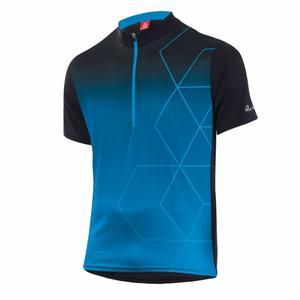 Bike Shirt HZ Evo - black/brillant blue