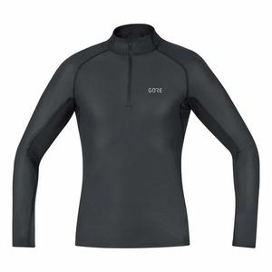 GORE® WINDSTOPPER® Base Layer Thermo Turtleneck - black