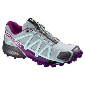 Speedcross 4 Women - quarry/acai/fair aqua