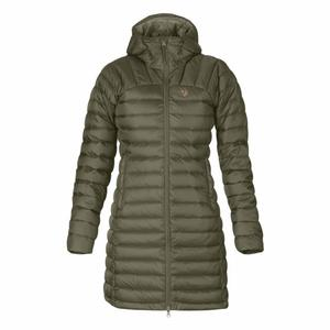 Snow Flake Parka Women - laurel green