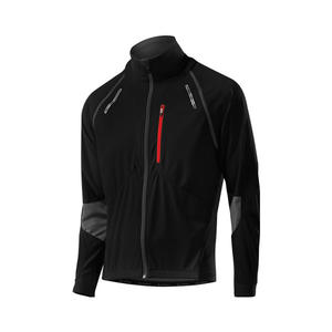 Bike Zip-Off-Jacket San Remo WS Softshell - black