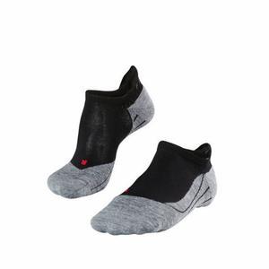 RU4 Invisible Running No Show Socks - black mix